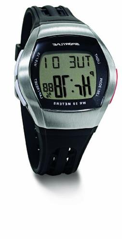 Sportline Men's Duo 1010 Dual Use Heart Rate Monitor - Silve