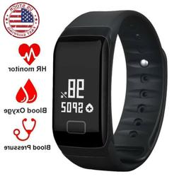 2x2018 Latest Smart Watch Wrist Band Bracelet Fitness Tracke