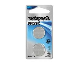 Energizer Lithium Coin Watch/Electronic Battery 2025, 2-Coun