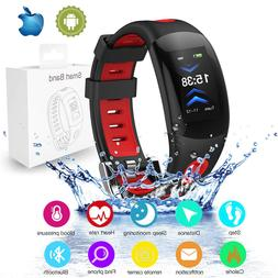 Men&Women New Sports Smart Bracelet Watch Bluetooth Heart Ra