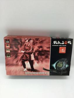 Polar A3 Heart Rate Monitor/Watch w/Sensor Belt; New In Open