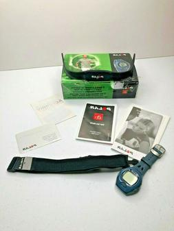 Polar A3 Heart Rate Monitor Watch with Chest Strap  - Blue