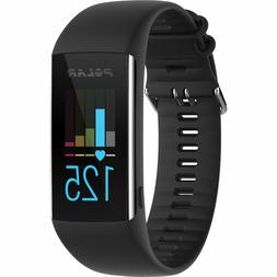 Polar A370 Running Watch with Wrist-based Heart Rate Black s