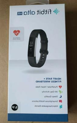 Fitbit Alta HR Activity Tracker + Heart Rate  Black - FB408S