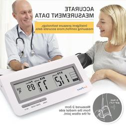 Auto Digital Upper Arm Blood Pressure Cuff Monitor BP Machin