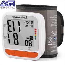 automatic blood pressure monitor bp cuff heart