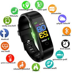 BANGWEI Smart Watch Men Women Heart Rate Monitor Blood Press