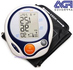 Blood Pressure Monitor Digital Upper Arm Cuff Automatic Meas