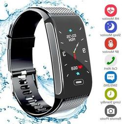 Bluetooth Smart Bracelet Heart Rate Monitor Watch Pedometer