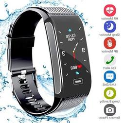 Bluetooth Smart Bracelet Fitbit Heart Rate Monitor Watch Ped