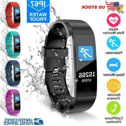 Bluetooth Smart Watch Fitness Activity Tracker Heart Rate Fo
