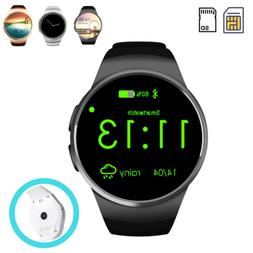 Bluetooth Smart Watch SIM Card Fitness Heart Rate Monitor fo