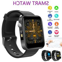 Bluetooth Waterproof Smart Watch Heart Rate Monitor For Andr