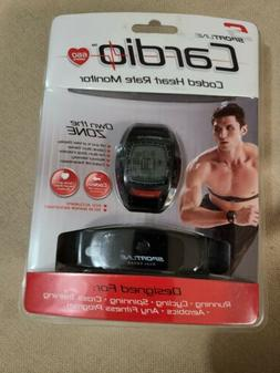 Sportline CARDIO Coded Heart Rate Monitor 660 Men's Black w/