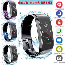 CK18S Smart Watch Heart Rate Monitor Fitness Tracker Activit