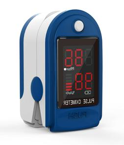 CMS 50-DL Fingertip Pulse Oximeter with Neck/Wrist cord and