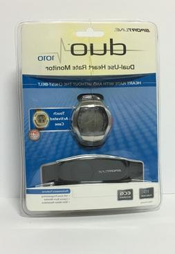 SPORTLINE DUO 1010 DUAL-USE HEART RATE MONITOR WATCH, FREE S
