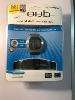 Sportline DUO 1010 Mens Dual Use Heart Rate Monitor with Che