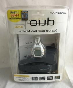 Sportline- Duo 1060 Dual-Use Heart Rate Monitor Watch Design