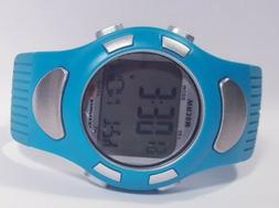 Bowflex Ecg Heart Rate Monitor Watch Pulse Detection Teal Bl