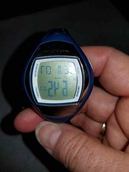 EUC Sportline Heartrate tracker monitor Watch, blue, adjusta