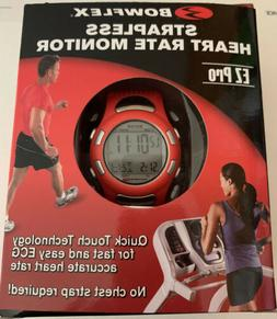 ez pro red strapless heart rate monitor