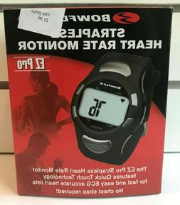 Bowflex EZ PRO Strapless Heart Rate Monitor Watch Black New