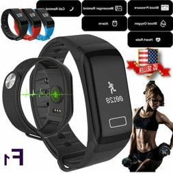 Sports Fitness Blood Pressure Tracker Heart Rate Monitor Sma