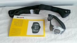 POLAR F1 Heart Rate Monitor with Instructions and Strap New