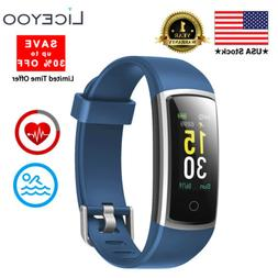 LICEYOO Fitness Activity Tracker with Heart Rate Monitor Wat