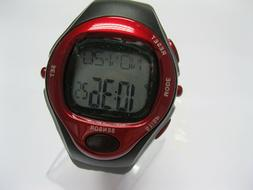 Fitness Pulse Heart Rate Monitor Sport Watch Running Exercis