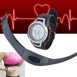 Fitness Pulse Heart Rate Monitor Watch & Chest Strap Pedomet