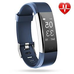 Fitness Tracker, Lintelek Heart Rate Monitor Waterproof Acti