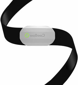 Fitness Tracker Ant+ Heart Rate Monitor Chest Strap IP67 Wat