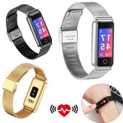 Fitness Tracker Bluetooth Smart Watch Heart Rate Pedometer S