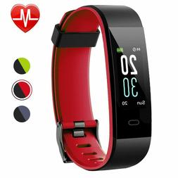 Lintelek Fitness Tracker, Color Screen Activity Tracker with
