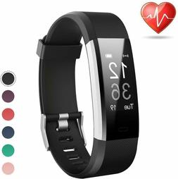 fitness tracker heart rate activity monitor waterproof