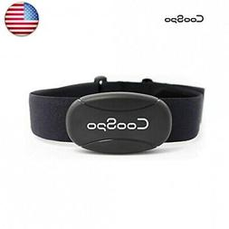CooSpo Fitness Tracker Heart Rate Monitor Chest Strap IP67 W