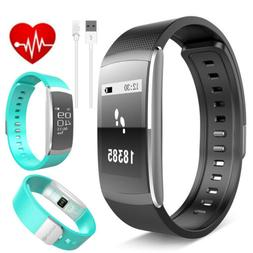 Fitness Tracker Heart Rate Pedometer Step Walk Calorie Count