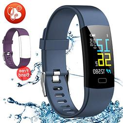 Juboury Fitness Tracker HR, Activity Tracker Watch Heart Rat