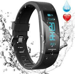 AGPTEK Fitness Tracker Smart Watch Waterproof Fitbit Style H