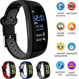 Fitness Tracker Sports Smart Bracelet Heart Rate Monitor Col