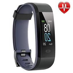 fitness tracker with heart rate monitor activity