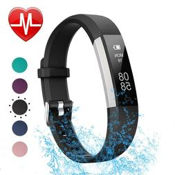 LETSCOM Fitness Tracker with Heart Rate Monitor - BLUE- BRAN