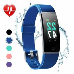 fitness tracker with heart rate monitor color