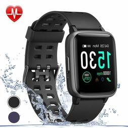 fitness tracker with heart rate monitor step