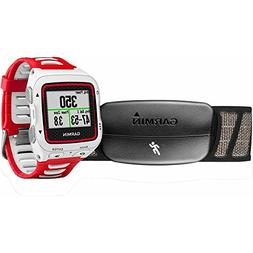 Garmin Forerunner 920XT White/Red Watch With HRM-Run