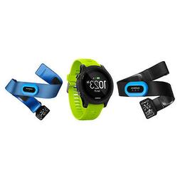 NEW Garmin Forerunner 935 GPS Tri Bundle - Black/Yellow Stra