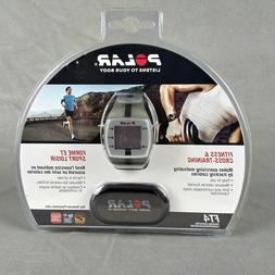 Polar FT4 Heart Rate Monitor - Gray Wrist, Black Chest Strap