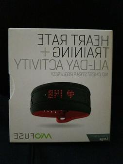 Mio Fuse Heart Rate Training + All-Day Activity Tracker Crim